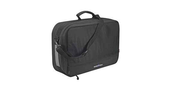 KlickFix Travel Topcase GTA Cykeltaske sort